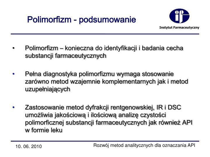 Polimorfizm - podsumowanie