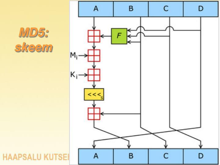 MD5: skeem