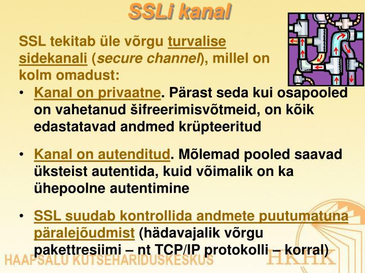 SSLi kanal