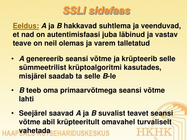 SSLi sidefaas