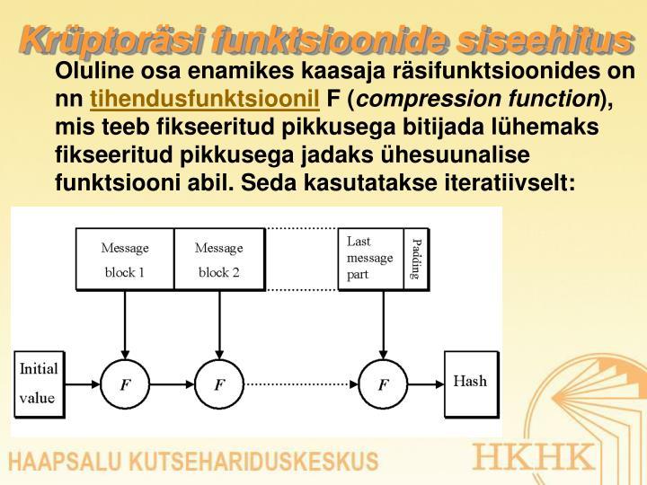 Krüptoräsi funktsioonide siseehitus