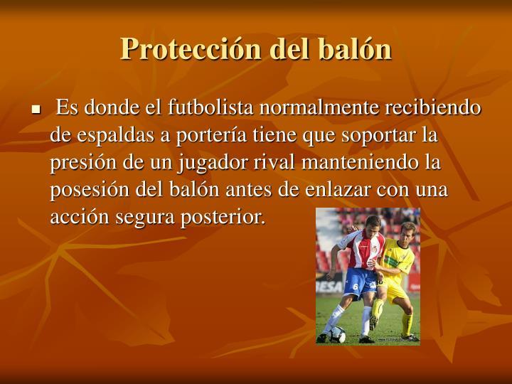 Protección del balón