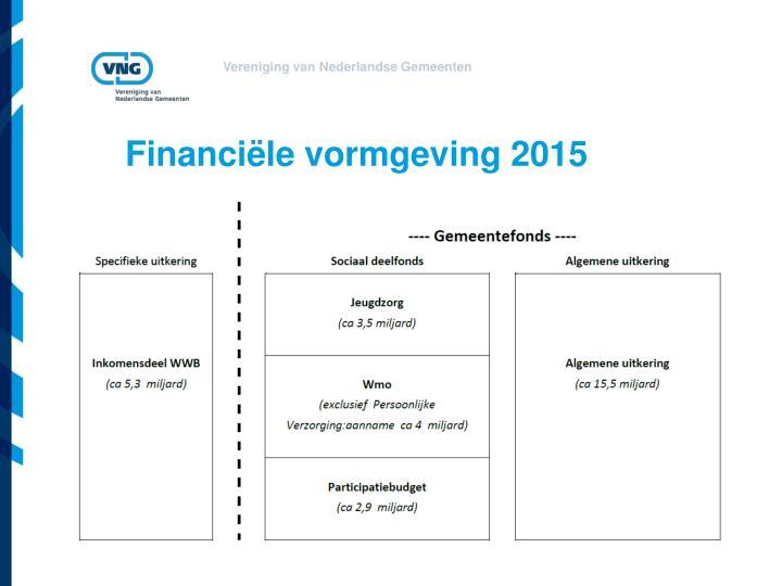Financiële vormgeving 2015