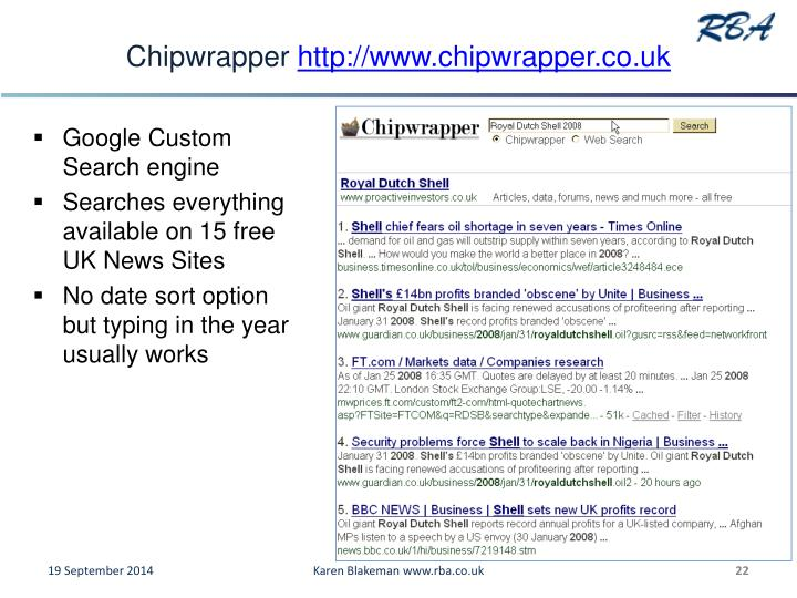 Chipwrapper