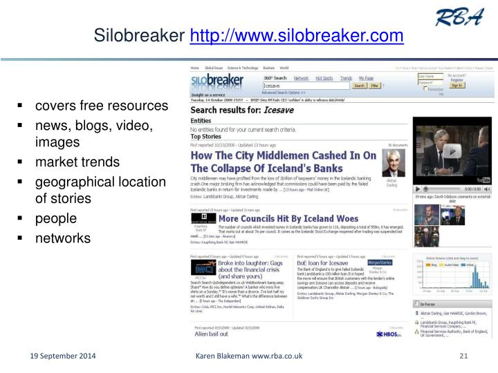 Silobreaker