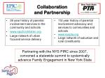 collaboration and partnership