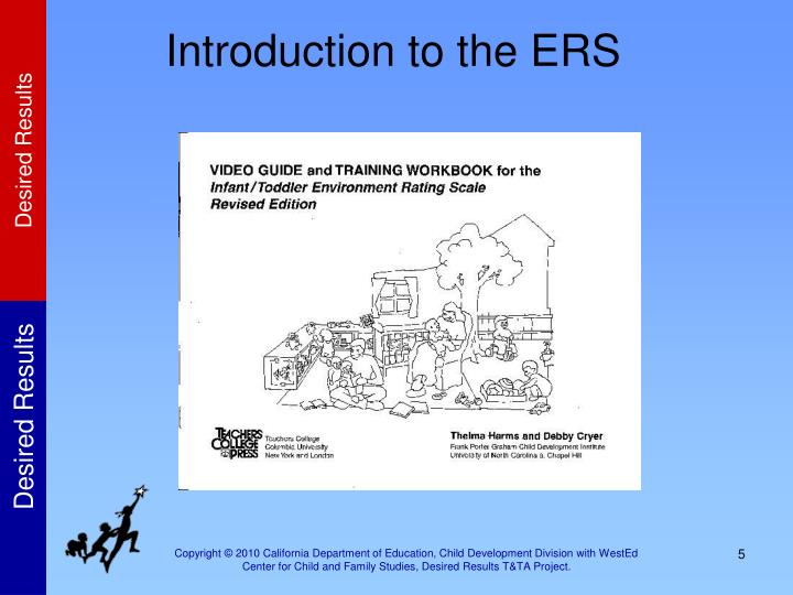Introduction to the ERS