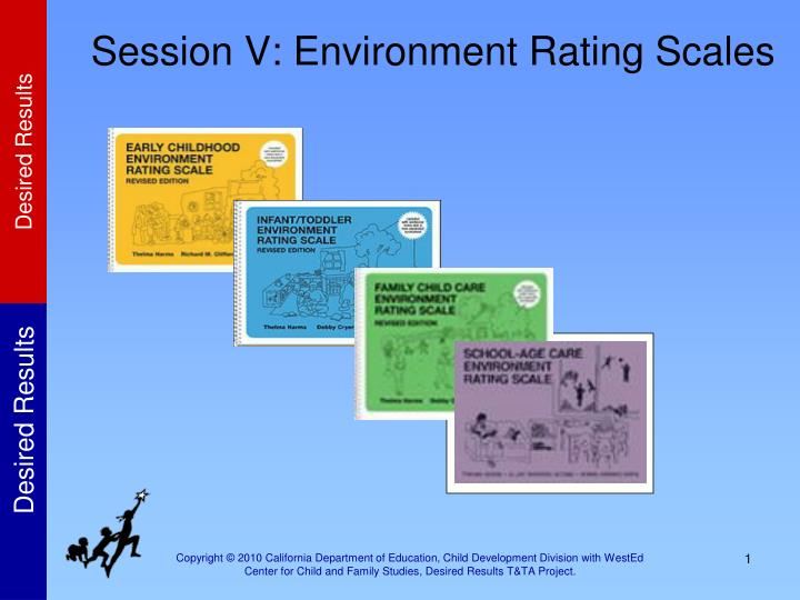 session v environment rating scales