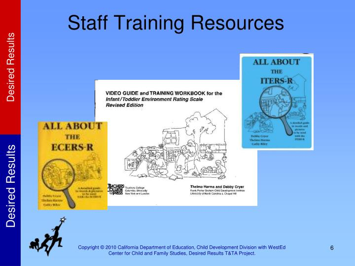 Staff Training Resources