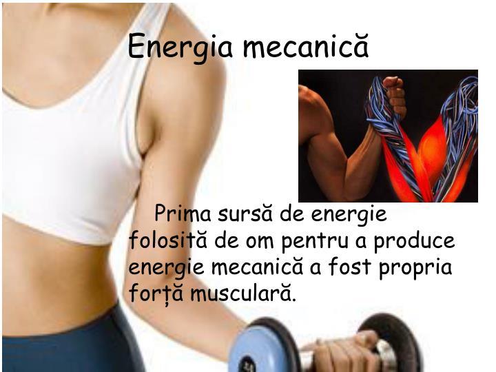 Energia mecanică