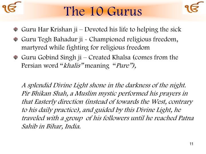 The 10 Gurus