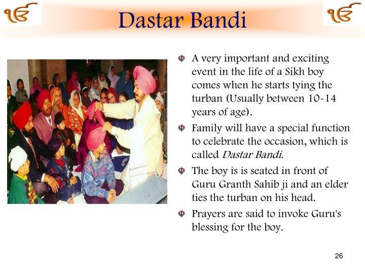 Dastar Bandi