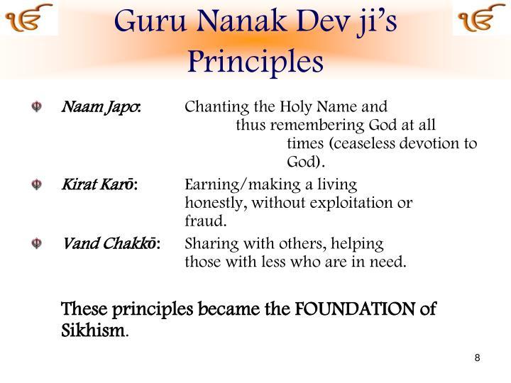 Guru Nanak Dev ji's