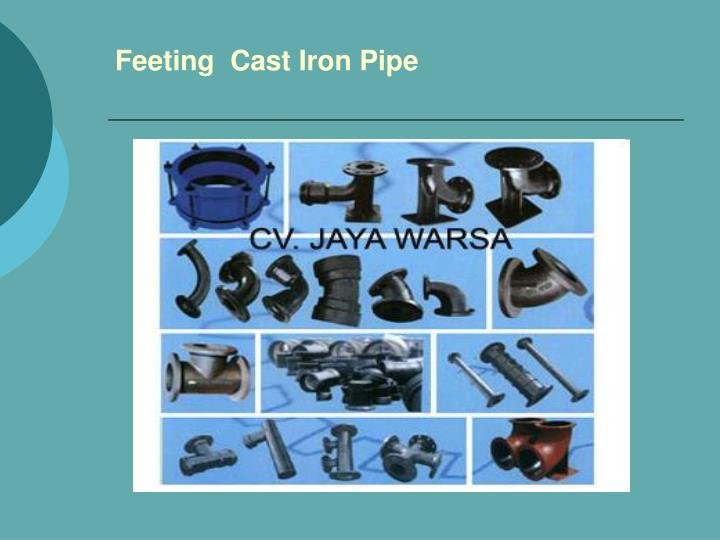 Feeting  Cast Iron Pipe