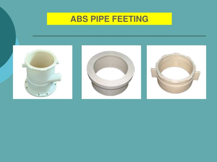 ABS PIPE FEETING