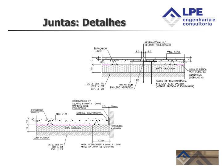 Juntas: Detalhes