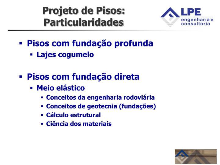 Projeto de Pisos: