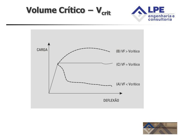 Volume Crítico − V