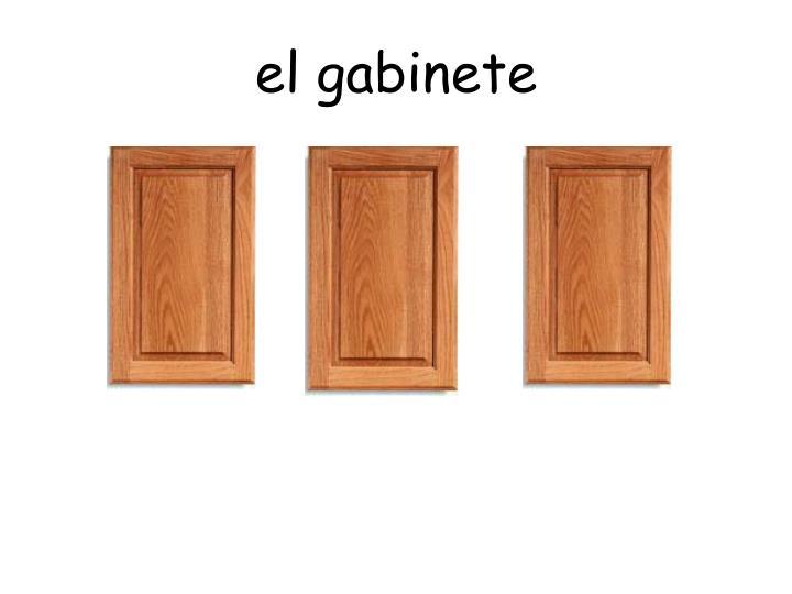 el gabinete