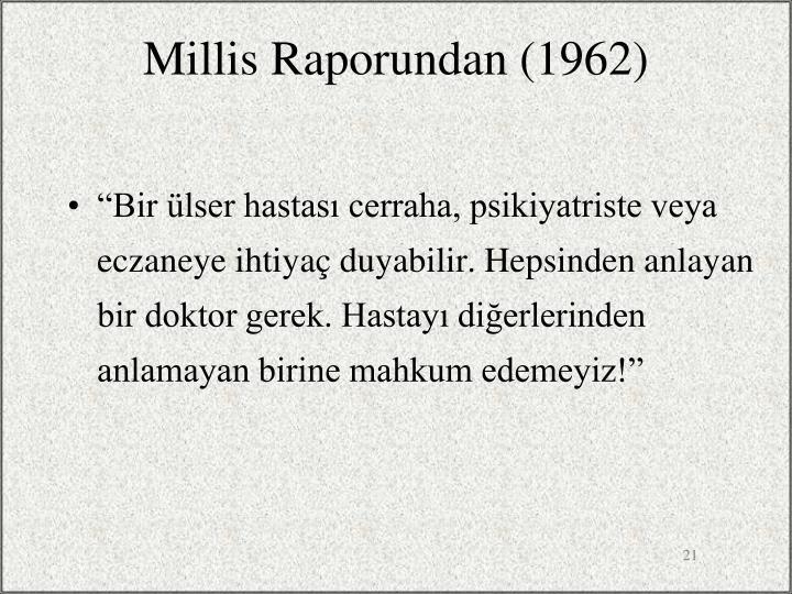 Millis Raporundan (1962)