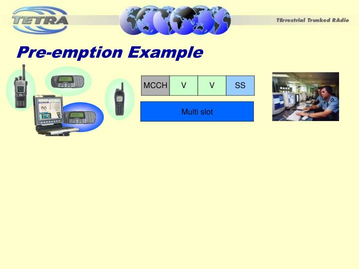 Pre-emption Example