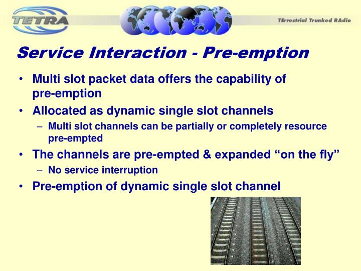 Service Interaction - Pre-emption