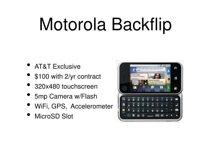 Motorola Backflip