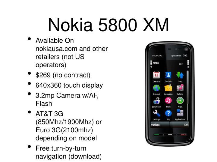 Nokia 5800 XM