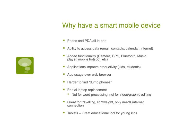 Ppt Personal Smart Devices Powerpoint Presentation Id