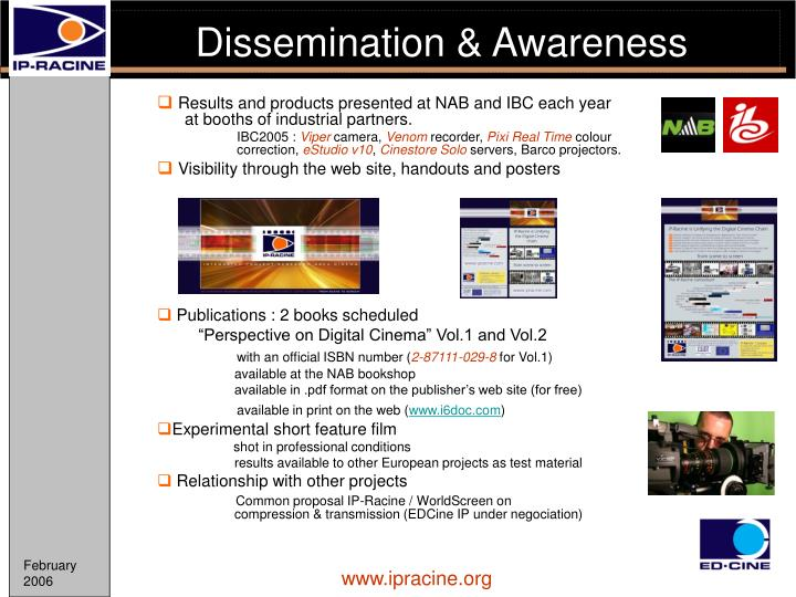 Dissemination & Awareness