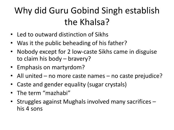 Why did Guru