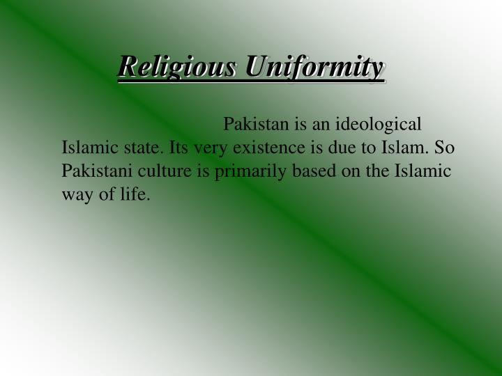 Religious Uniformity
