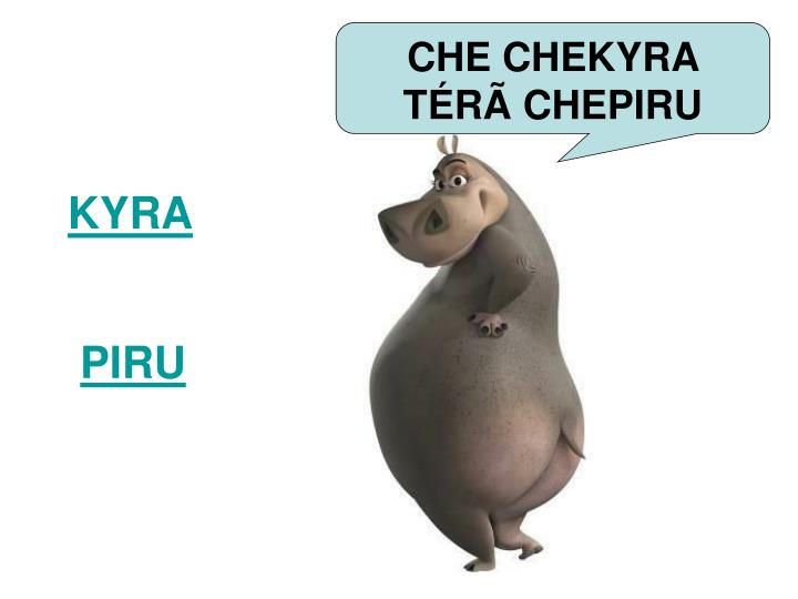 CHE CHEKYRA TÉR
