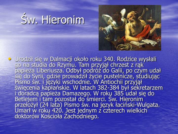 Św. Hieronim