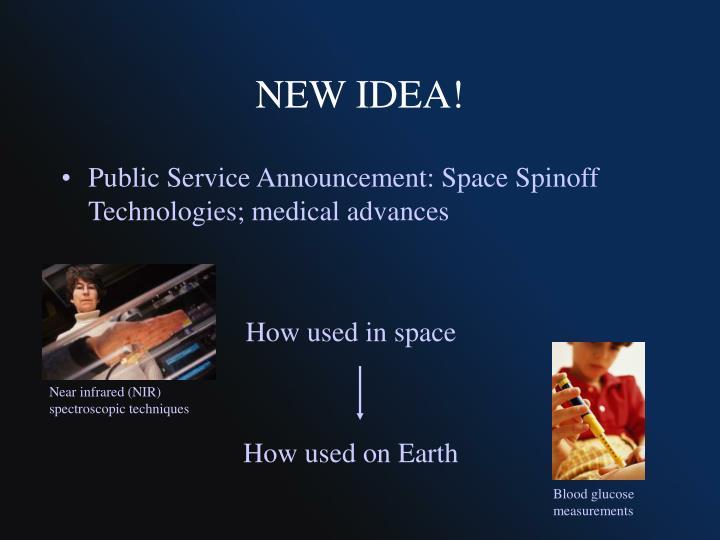 NEW IDEA!