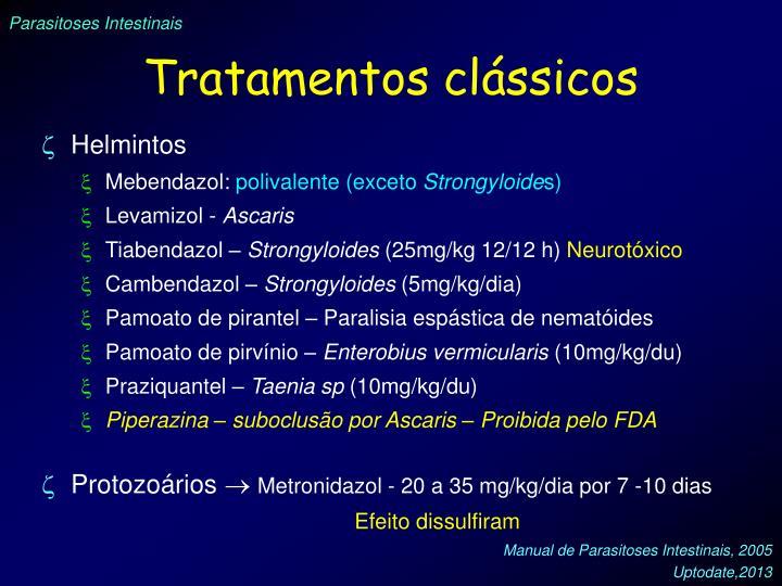 Tratamentos clássicos