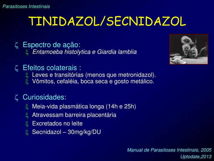TINIDAZOL/SECNIDAZOL