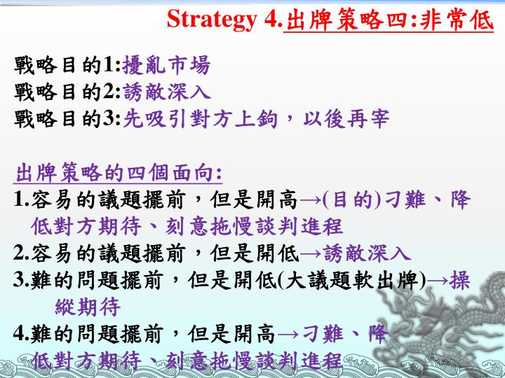 Strategy 4.