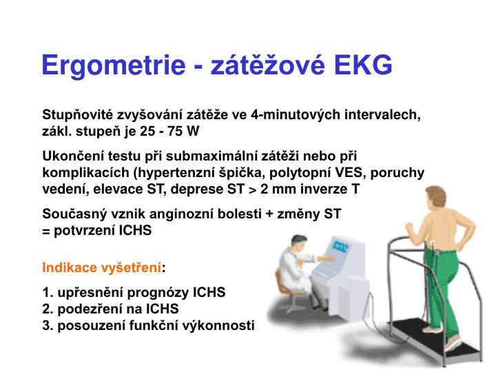 Ergometrie - zátěžové EKG