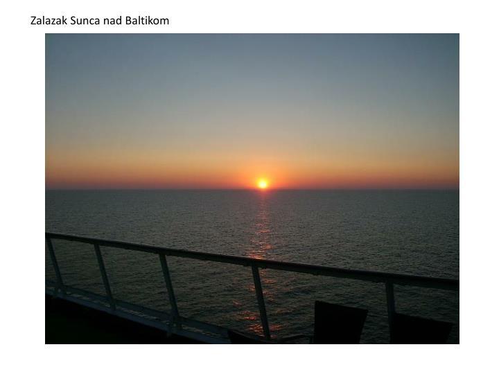 Zalazak Sunca nad Baltikom