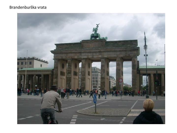 Brandenburška vrata