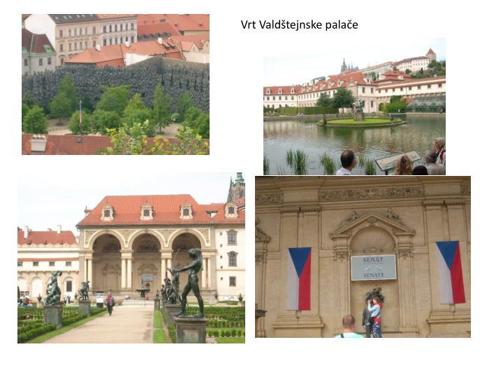 Vrt Valdštejnske palače