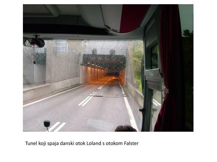 Tunel koji spaja danski otok Loland s otokom Falster