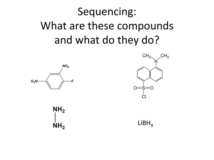Sequencing: