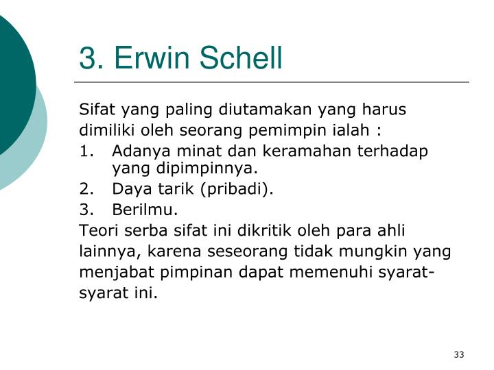 3. Erwin Schell