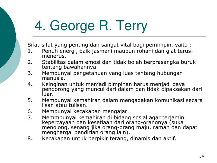 4. George R. Terry