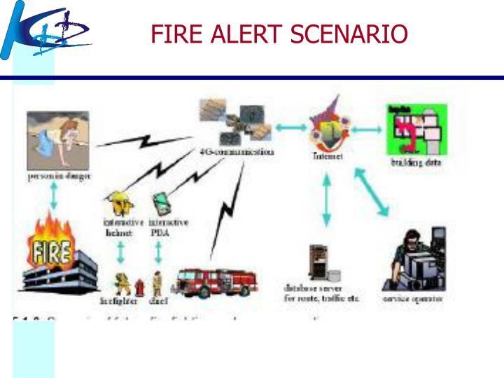 FIRE ALERT SCENARIO