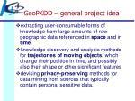 geopkdd general project idea