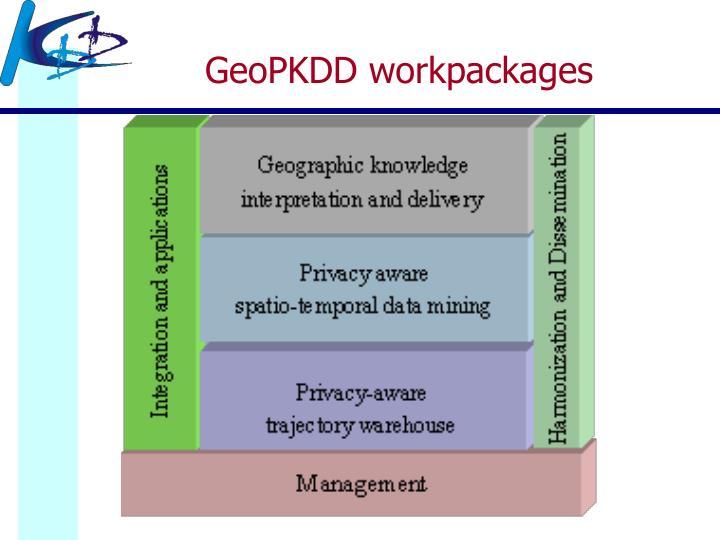 GeoPKDD workpackages