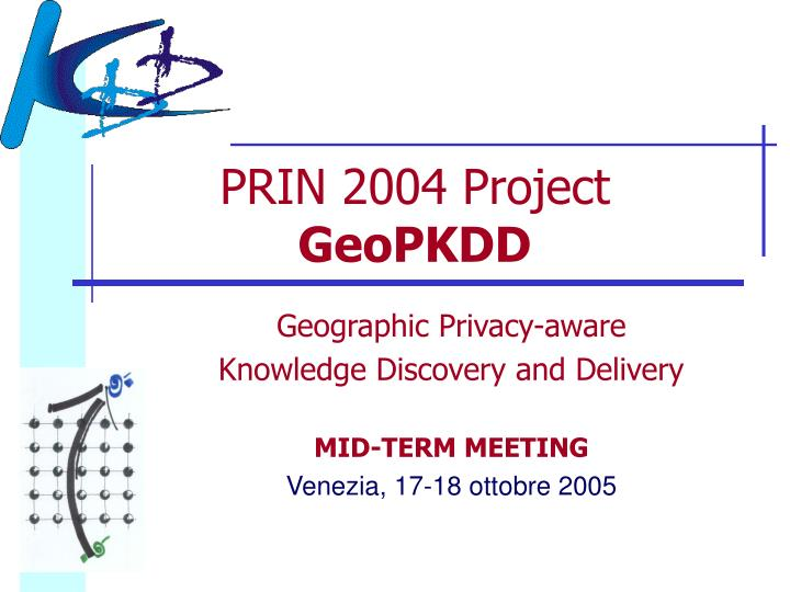PRIN 2004 Project